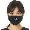 HANDBALL2GO Mund-Nasen-Maske h2go-Logo gestreift