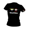 volleyball2go Fun-Shirt Engel & Teufel Damen