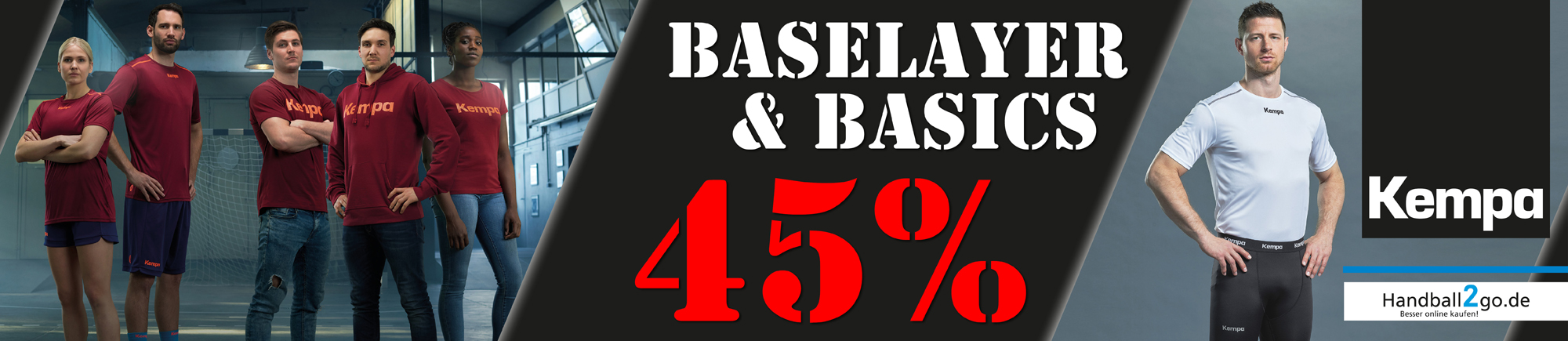 Kempa Baselayer & Basics