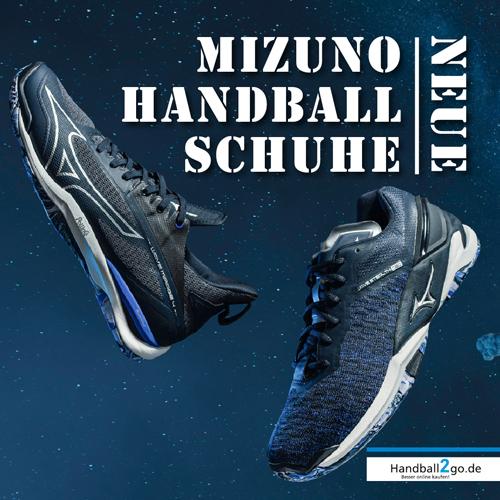 Neue Mizuno Handballschuhe