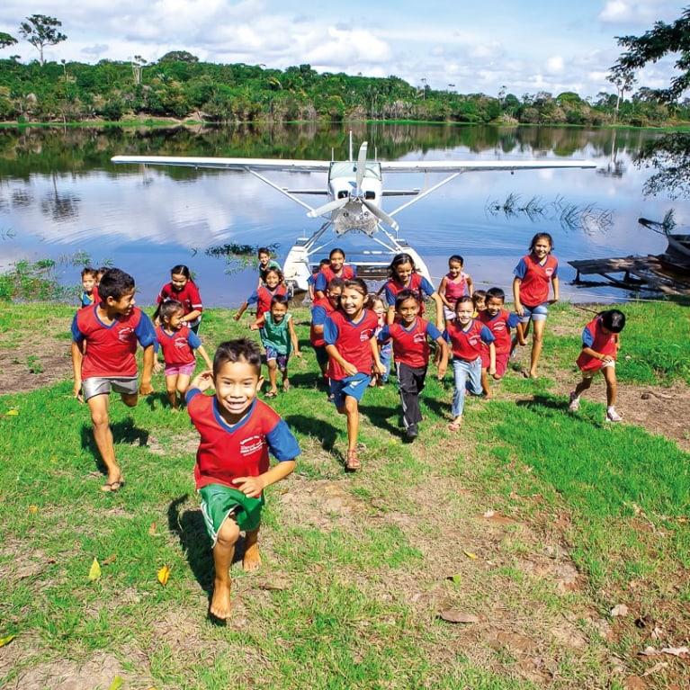 Asas de Socorro presta ajuda médica à remota região da Amazônia. Foto: Asas de Socorro