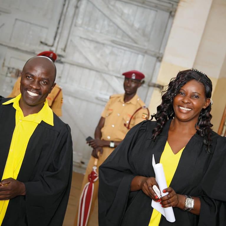 Grâce à la détenue Susan Kigula, étudiante en droit, des centaines de prisonniers ont été libérés du couloir de la mort. Photo : African Prisons Project