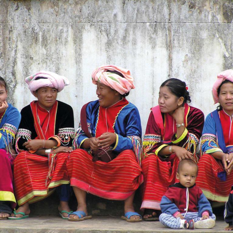 Femmes et enfants de la tribu Palaung. Photo: UHDP