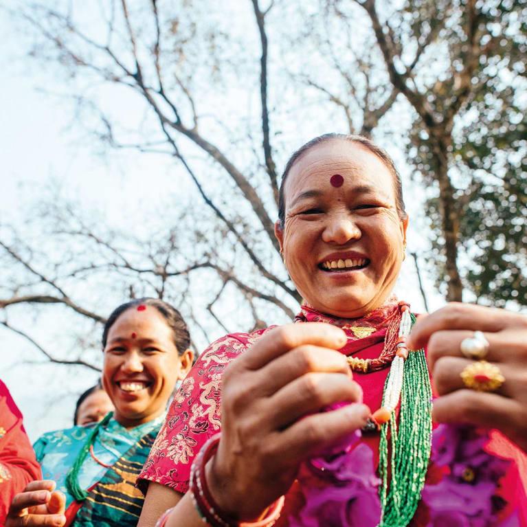 El empoderamiento económico de la mujer reduce su vulnerabilidad a la violencia sexual y de género. Foto: Tom Price/Tearfund