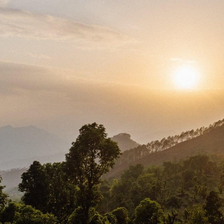 Amanecer en Nepal. Foto: Andrew Philip/Tearfund