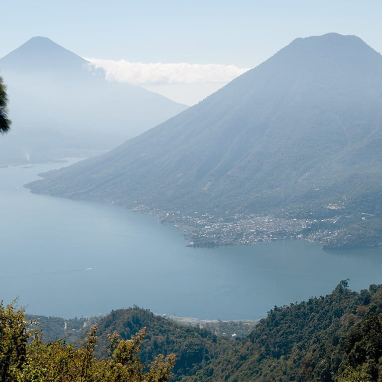 The beauty of Lake Atitlán in Guatemala reminds us of God's love for us, and for all of creation.