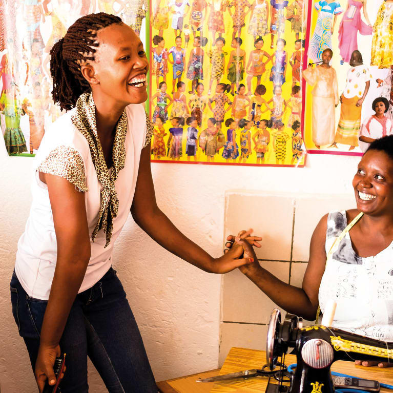 Electricity is allowing people living with cerebral palsy in Rwanda to learn new skills.
