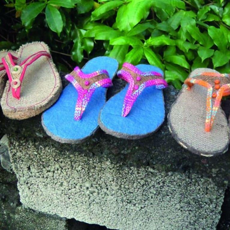 Terra Coco propose toute une gamme de produits à base de restes de noix de coco. Photo : Terra Coco