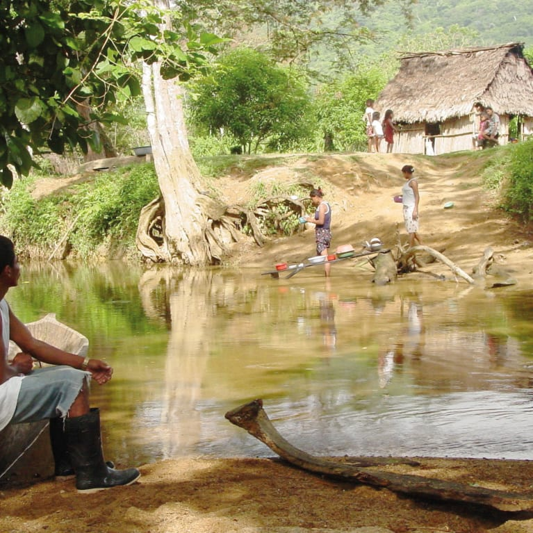 A community in rural Honduras.