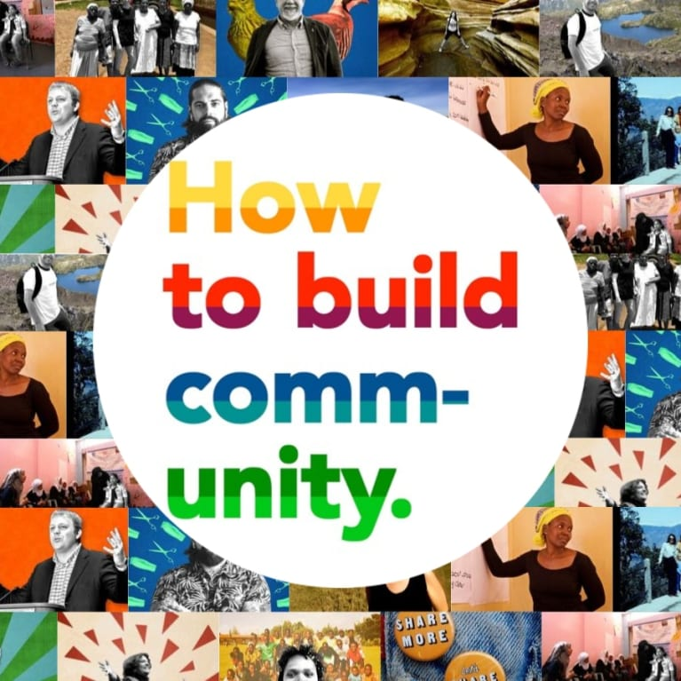 How to build community - a podcast series with Arukah Network