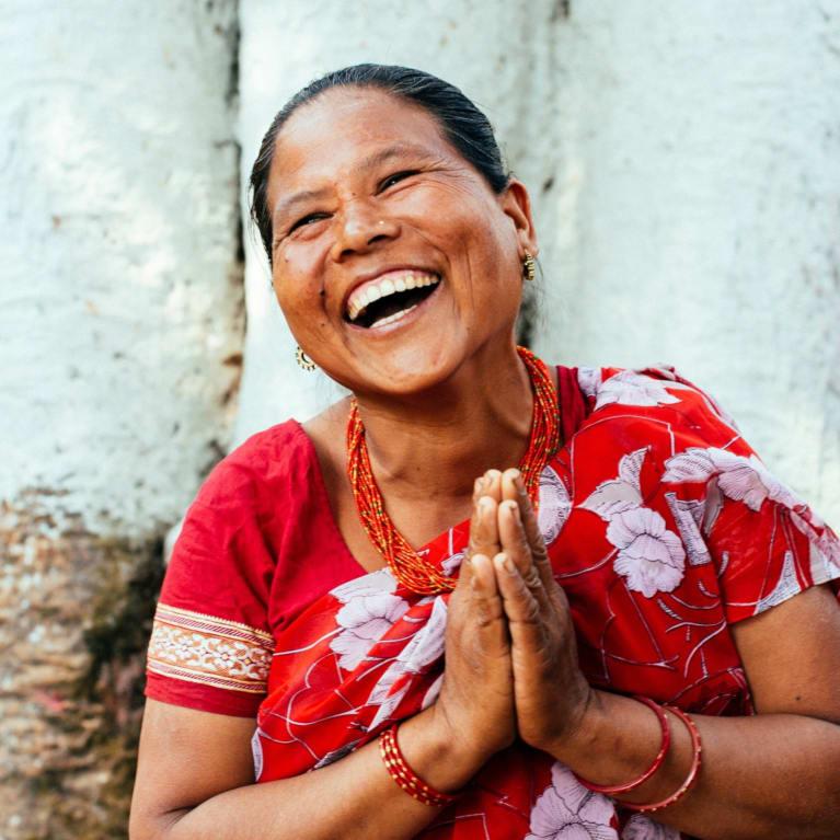 Nanda Kumari Saru Magar, 40, of the Mangala Devi Women's Action Group, Mashyangbharyang village, Nepal.