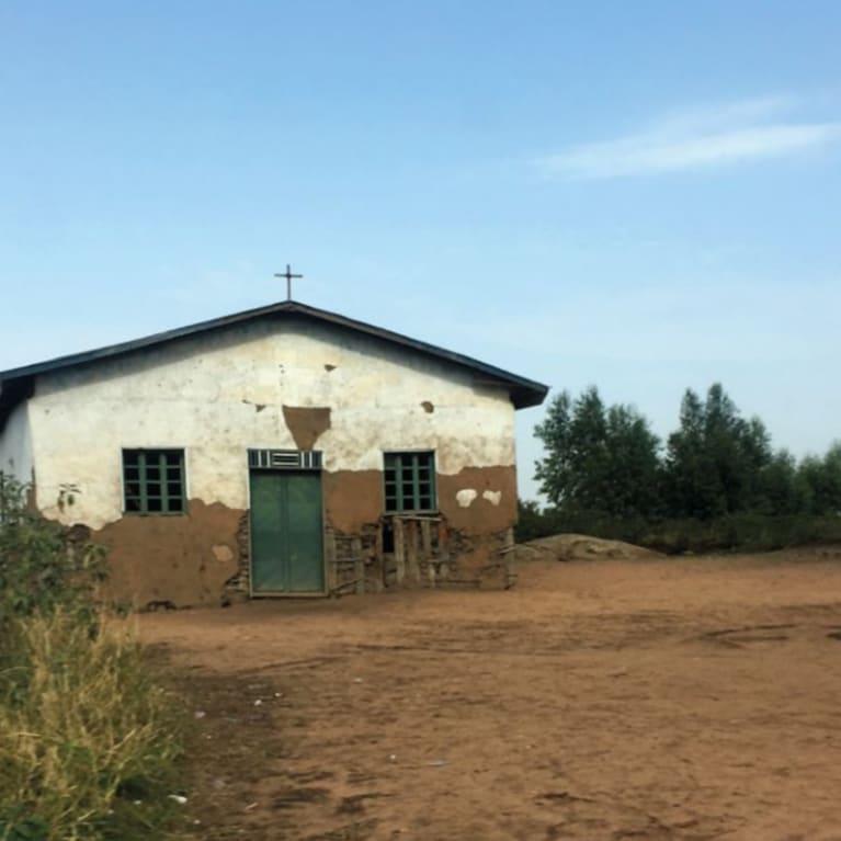 Une église en RDC.