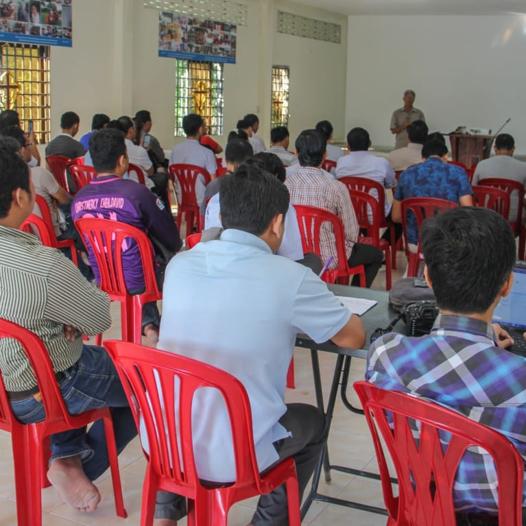 Strategic planning review in Cambodia. Photo: Cambodian Hope Organisation