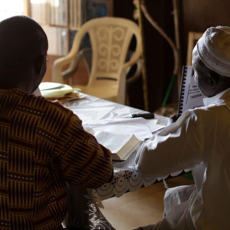 Faith leaders in Sierra Leone discuss their Ebola response