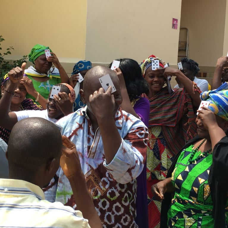 Gender Champions training in Bangui, Central African Republic, 2016.