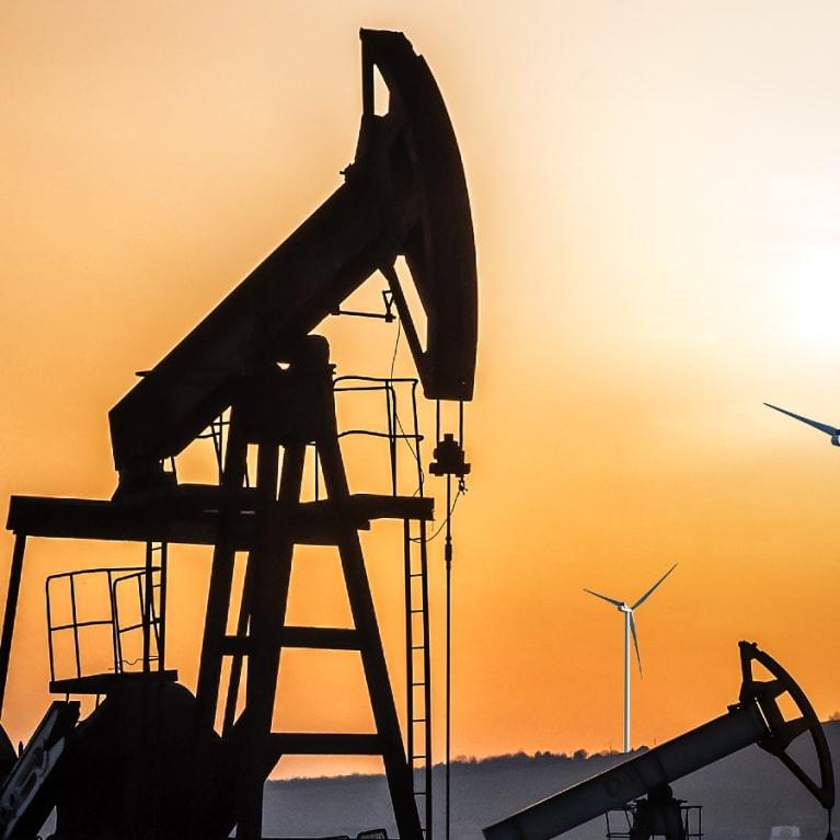 An oil drill