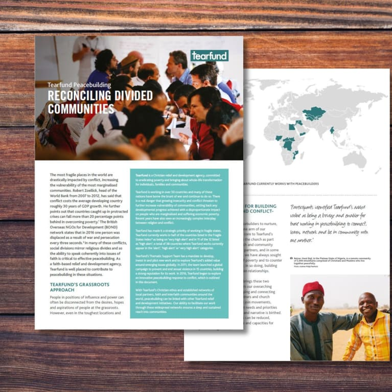 Cover image of Reconciling divided communities