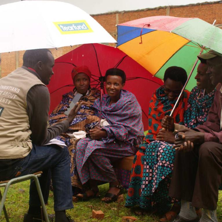 Conducting an Outcome Harvesting plus Attitude Change evaluation in Burundi