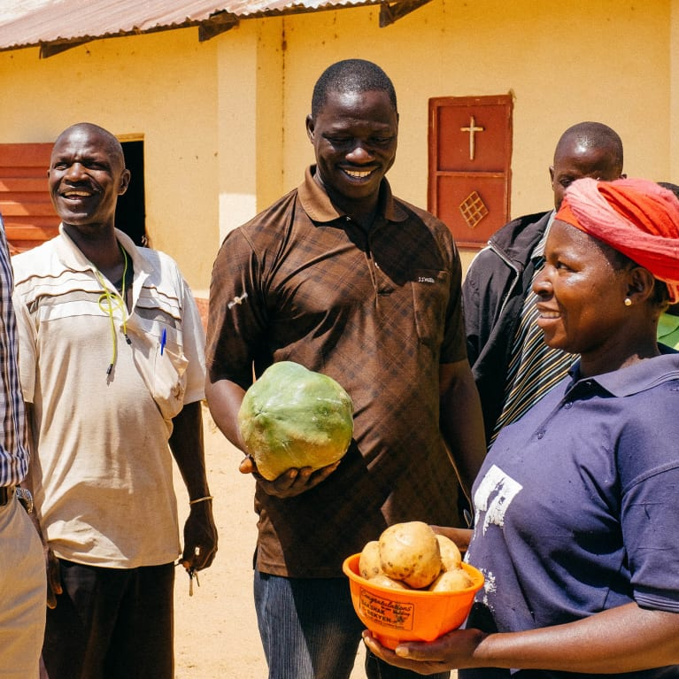 Adiyes est un petit village du Nigeria qui, grâce au processus de mobilisation de l'Église et de la communauté, a créé deux nouvelles écoles et un marché. Photo : Andrew Philip/Tearfund