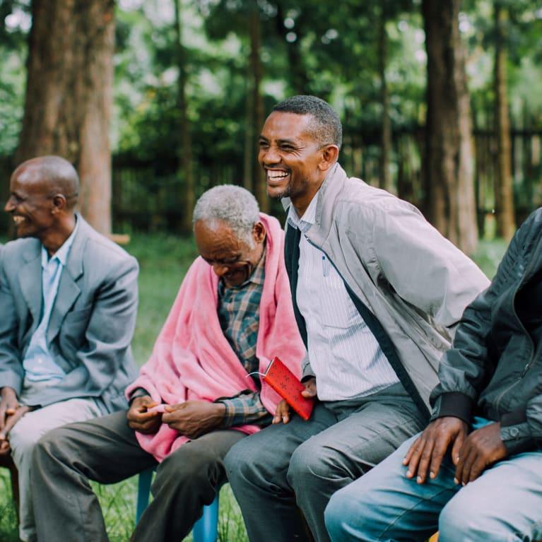 Members of a community self-help group in Ethiopia | Credit:Aaron Koch
