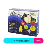 Love earth Baby Noodles Carrot, Sweet Potato &  Spinach 7+months (180g)