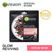 GARNIER Charcoal Glow Reviving Serum Mask
