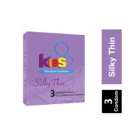 Kiss Silky Thin Premium Condom ကြန္ဒံုး