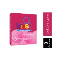 Kiss Bubble Gum Premium Condom ကြန္ဒံုး