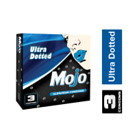 Mojo Ultra Dotted Superior Condom ကြန္ဒံုး