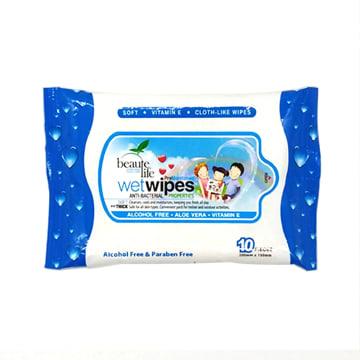 Beaute Life Wet Tissue - Blue 10's