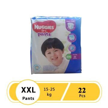 Huggies (Dry Pants Jumbo) XXL 22