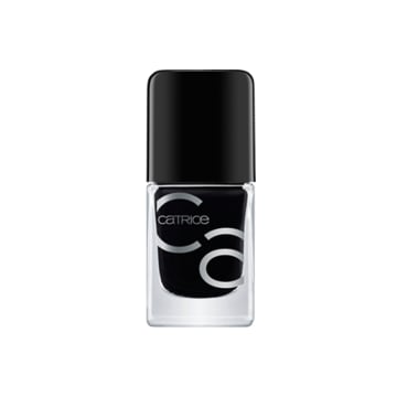 Catrice ICONails Gel Lacquer (20 BLACK TO THE ROUTES)