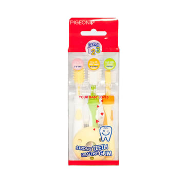 Baby Traning Tooth Brush (Pigeon)