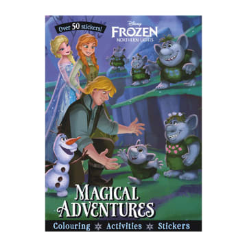 Disney Frozen Northern Lights Magical Adventures (Paperback)