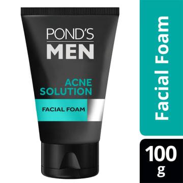 PONDS Men AnceSolution Facial Foam 100g