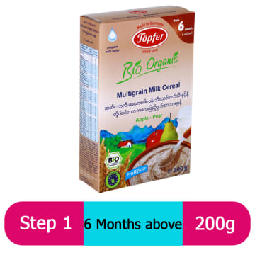 Topfer Multigrain Milk Cereal (6 Month+) 200g