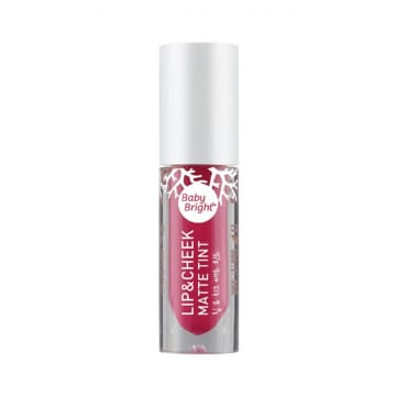 Baby Bright - Lip & Cheek Matte Tint#9 Hot Coral