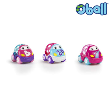 Oball Go Grippers Pink Car Set