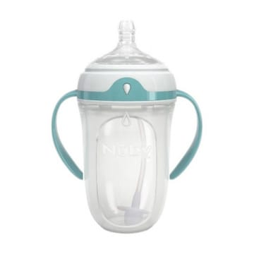 Nuby-360 Silicone Comfort Bottle-3M+