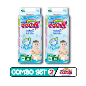 Goo.N Tape - M 36 Pcs ( Combo Set 2 )