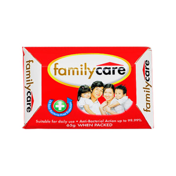 Family Care Skin Cls Bar Red AMILY CARE SKIN CLS BAR RED 65g