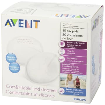 Philips Avent  Disposable Breast Pads Day 30 - SCF-254/30