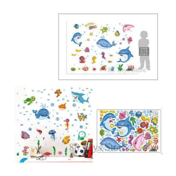 Sea Animal Stickers