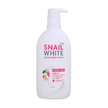 Namu Life SnailWhite Cream Body Wash Natural White 500 ml