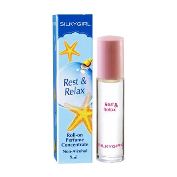 Silkygirl Roll-on Perfume Concentrate (Rest & Relax 9ml)