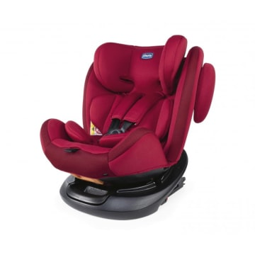 Chicco Unico Baby Car Seat Red Passion