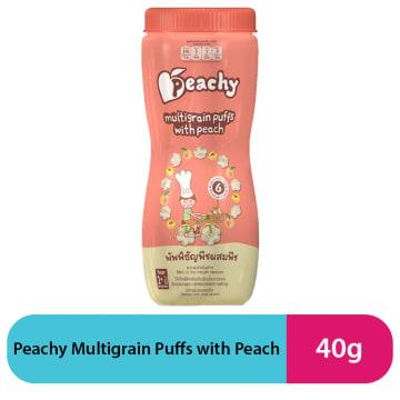 Peachy Multigrain Puffs with Peach (40g)