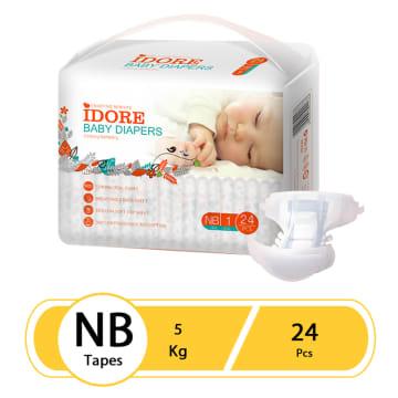 Idore Baby Diaper Pants NB(24 Pcs)