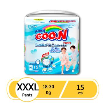 Goo.N Pants XXXL 15 Pcs