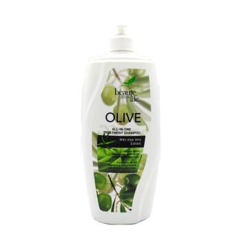 Beaute Life Hair Shampoo-Olive Oil&Aloe Vera  1000ml
